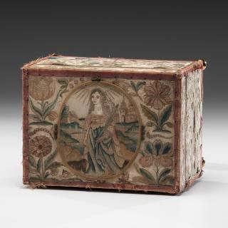 Charles II Needlework Casket - Price Estimate: $2500 - $5000