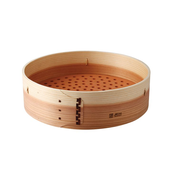 Steamer Basket // Extended Height The method of steaming food was invented during the Han Dynasty thousands of years ago. Legend has it that General Han Xin made cooking utensils from bamboo and...