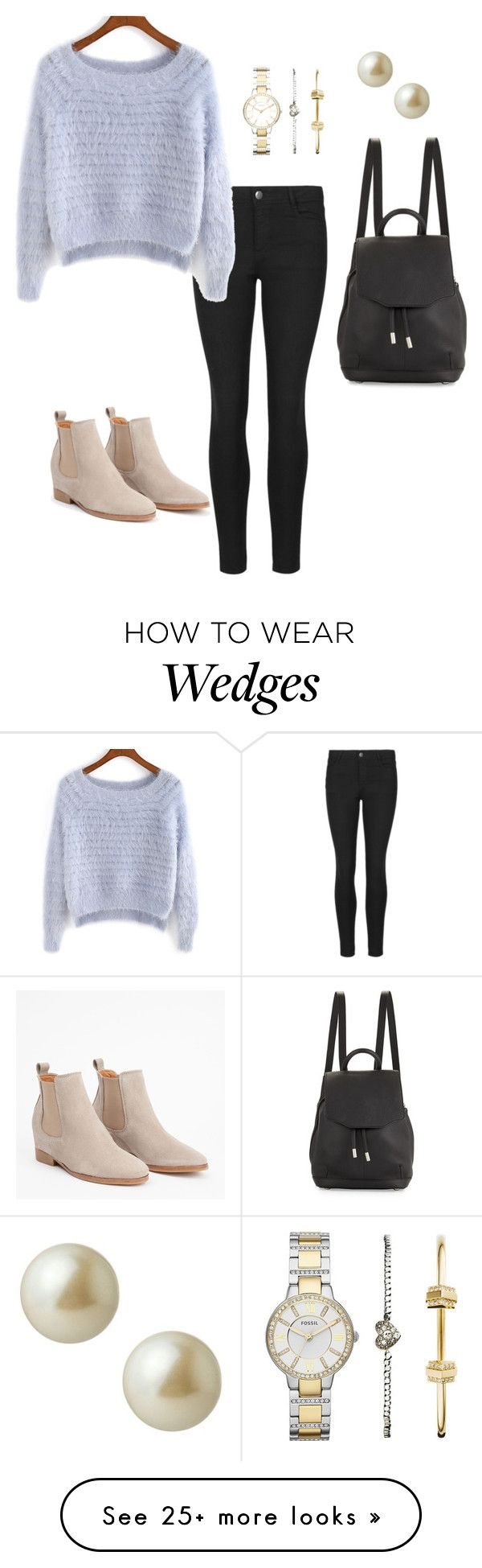 """""""Untitled #586"""" by hyewon-park1020 on Polyvore featuring FOSSIL, Carolee and rag & bone"""