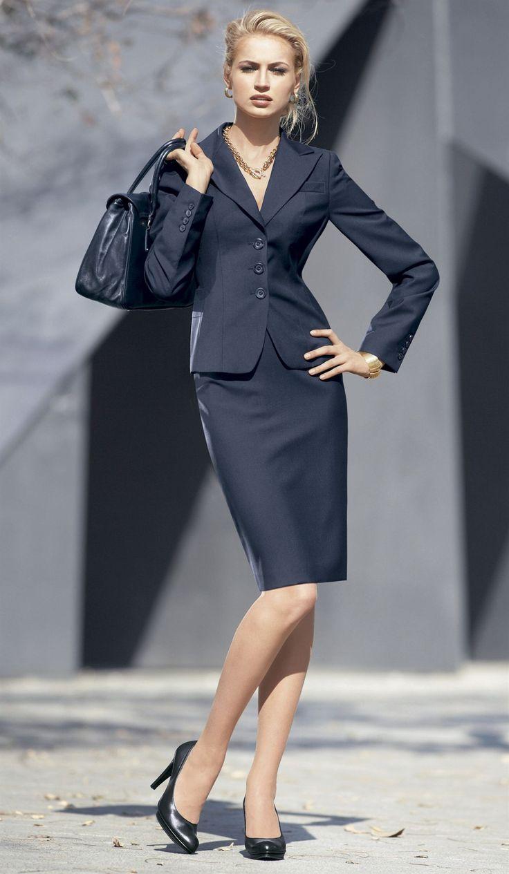 Skirt suits, uniforms, amazing dresses... — (bigger ...