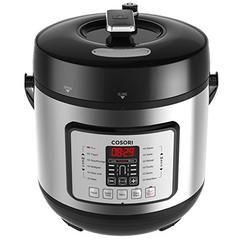 7-in-1 Multifunctional Programmable Pressure Cooker, Rice Cooker, Slow Cooker with Glass Lid