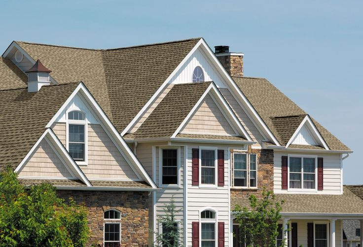 #GAF Timberline HD #shingles in Weathered Wood #roofing