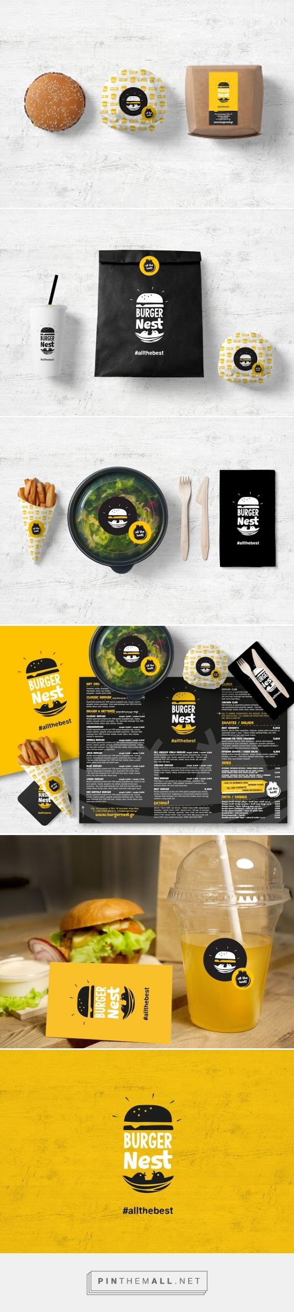 Burger Nest         on          Packaging of the World - Creative Package Design Gallery - created via http://pinthemall.net