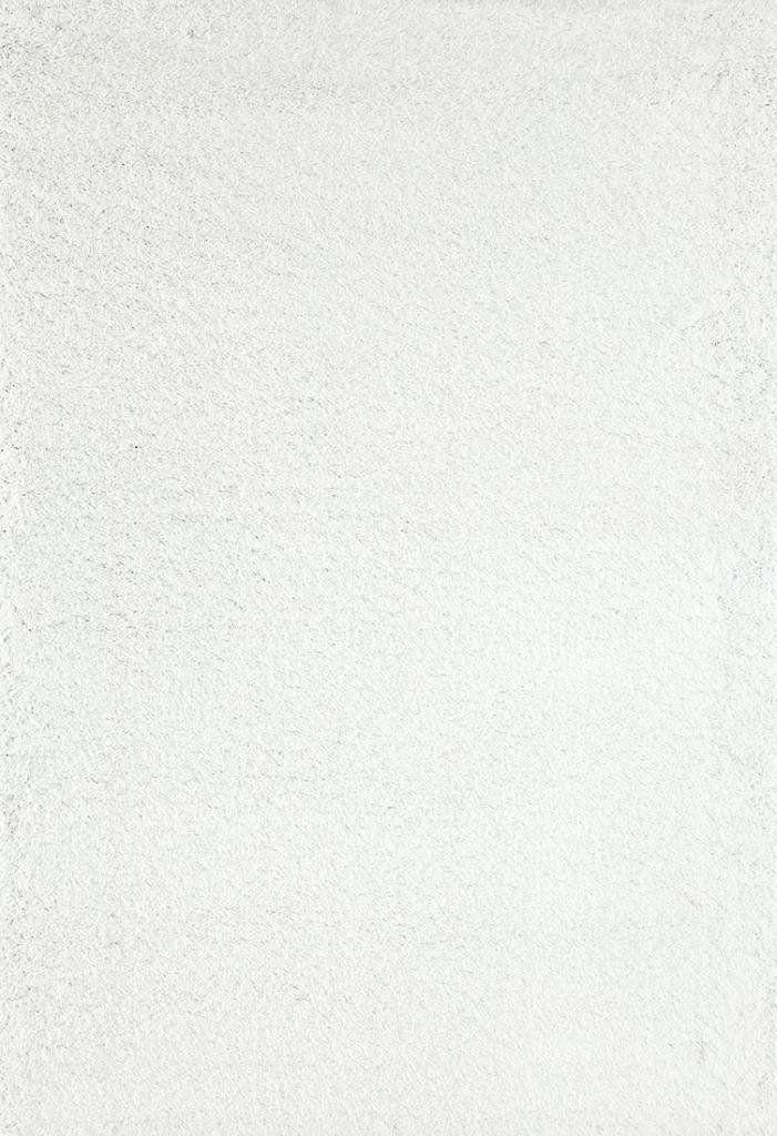 8087 White Shag Area Rugs