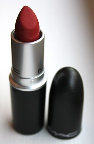MAC Russian Red. One of the most beautiful and classic reds. I hear NYX does a great (and cheap!) dupe of this.