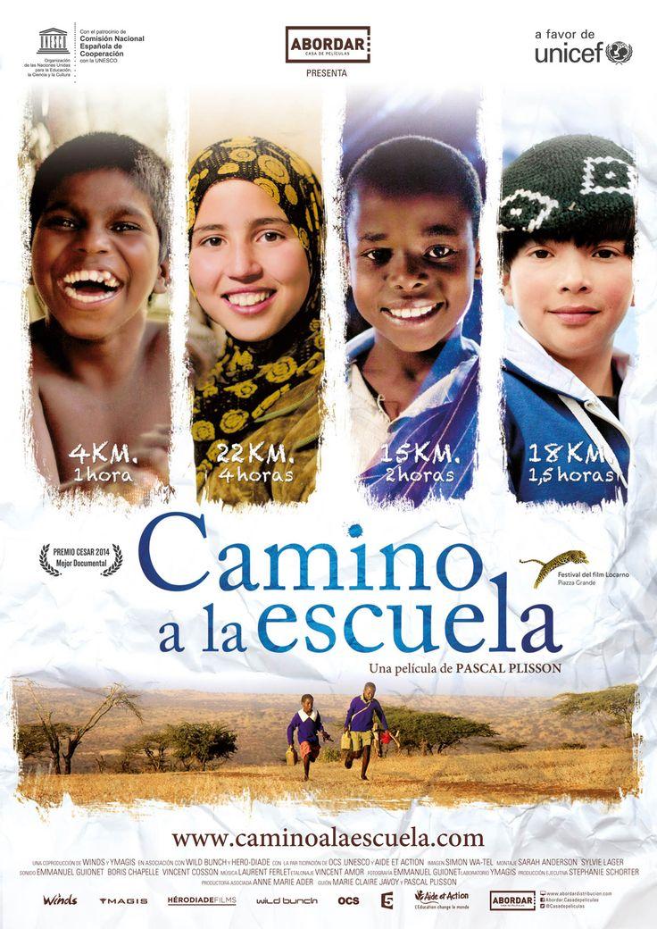 CAMINO A LA ESCUELA, un documental que mostra el valor de l'escola en alguns indrets de la terra i l'esforç d'alguns infants per arribar-hi cada dia. CAMINO A LA ESCUELA, un documental que mostra el valor de l'escola en alguns indrets de la terra i l'esforç d'alguns infants per arribar-hi cada dia.