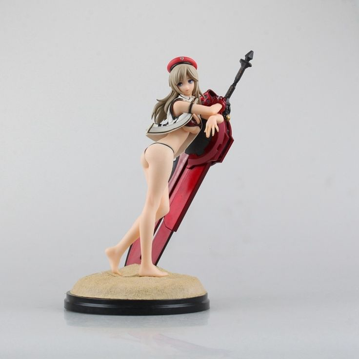 (31.19$)  Watch here  - Anime GOD EATER 2 Alisa Llyinichna Omela with Swimming Wear PVC Action Figure Collectible Model Toy Dolls 23cm KT1306