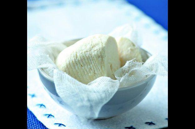 Čerstvý domácí sýr