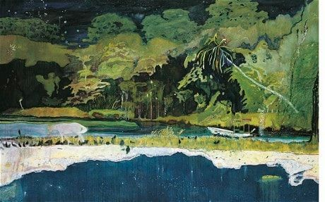 Peter Doig 'grand rivière' interview: the triumph of painting - Telegraph