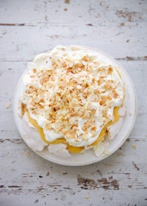 Lemon Pavlova | Recipes | Nigella Lawson