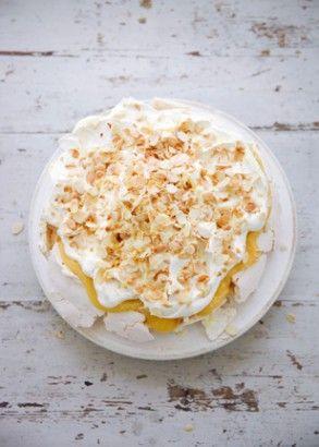 Lemon Pavlova | Recipes | Nigella Lawson
