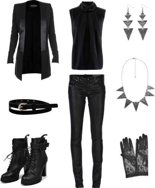 Outfit inspired by B.A.Ps music video One Shot  More Outfits on I Dress Kpop