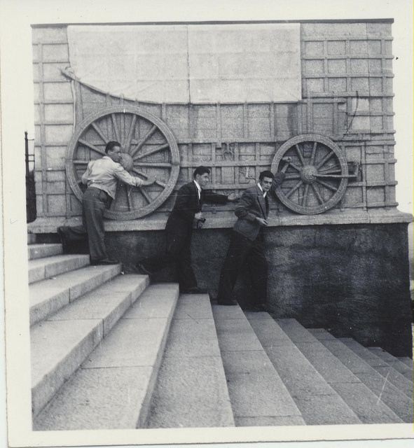 Voortrekker Monument March 1954 by Axel Bührmann, via Flickr