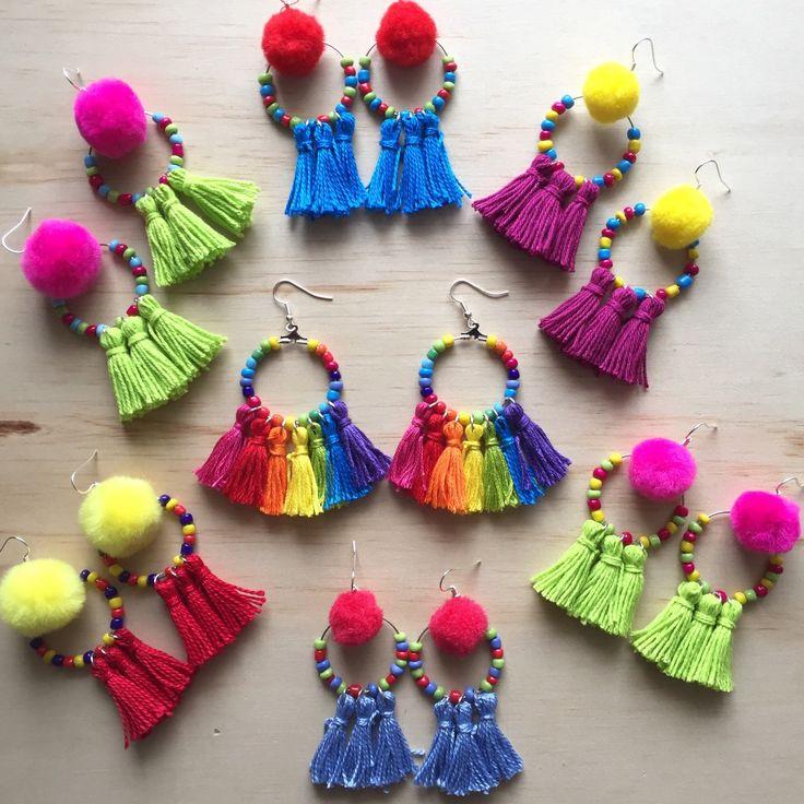 42b098b002180d9ad6e4a2b8c0695e32 - Photographing new Tribal Tassel Dangles Rainbow Dangles are coming soon!!!