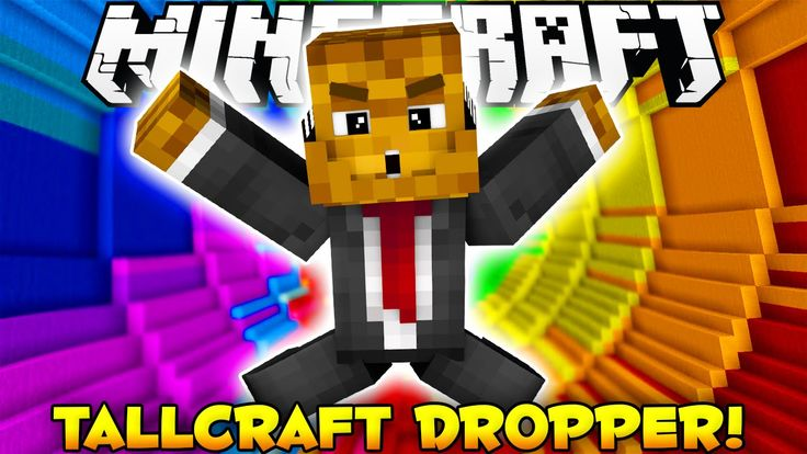 Minecraft DROPPER - I FELL IN THE TOILET - YouTube