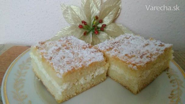 Krehký tvarohový koláč - Recept