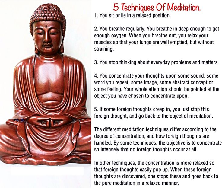 What are some 'proper' meditation techniques ? - Quora