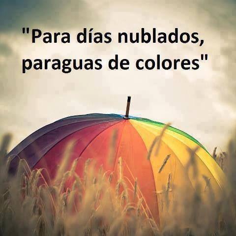 Paraguas de colores                                                       …