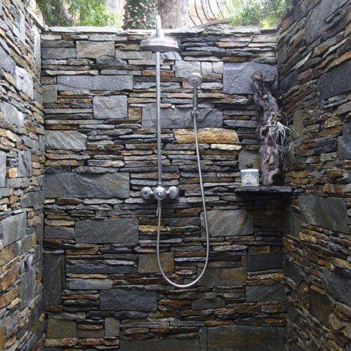 outdoor garden shower