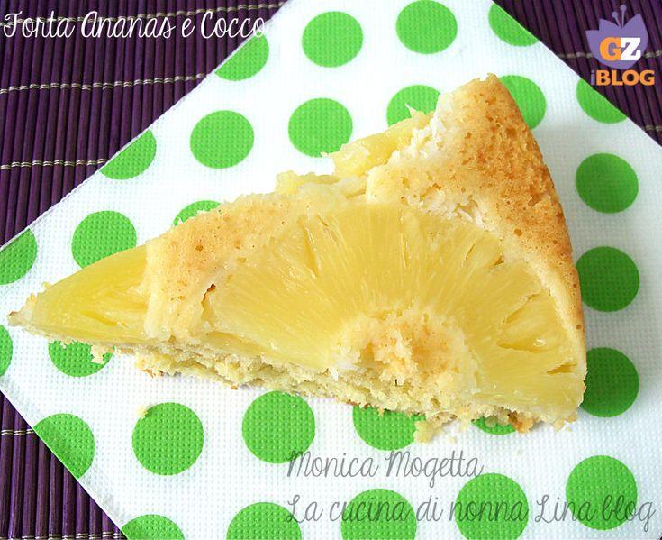 torta ananas e cocco | La cucina di nonna Lina