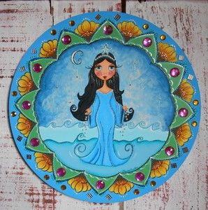 Mandala Flores para Iemanja