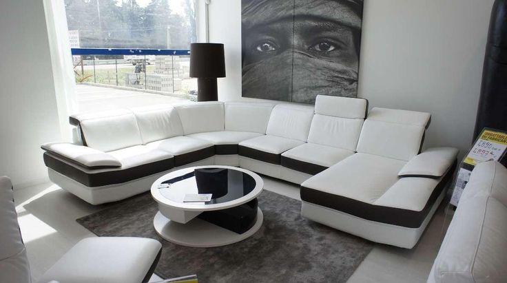 Divano, mobilia del salone Franco