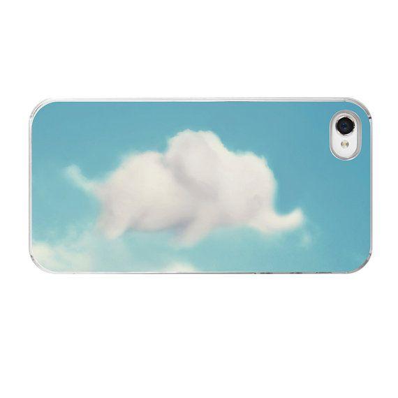 Elephant iPhone Case Cloud iPhone Case by AmyTylerPhotography