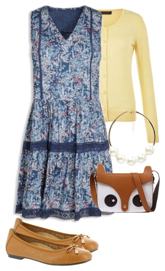 """Summer office casua #5"" by amooshadow on Polyvore featuring New Look, Vionic, Retrò and Vero Moda"