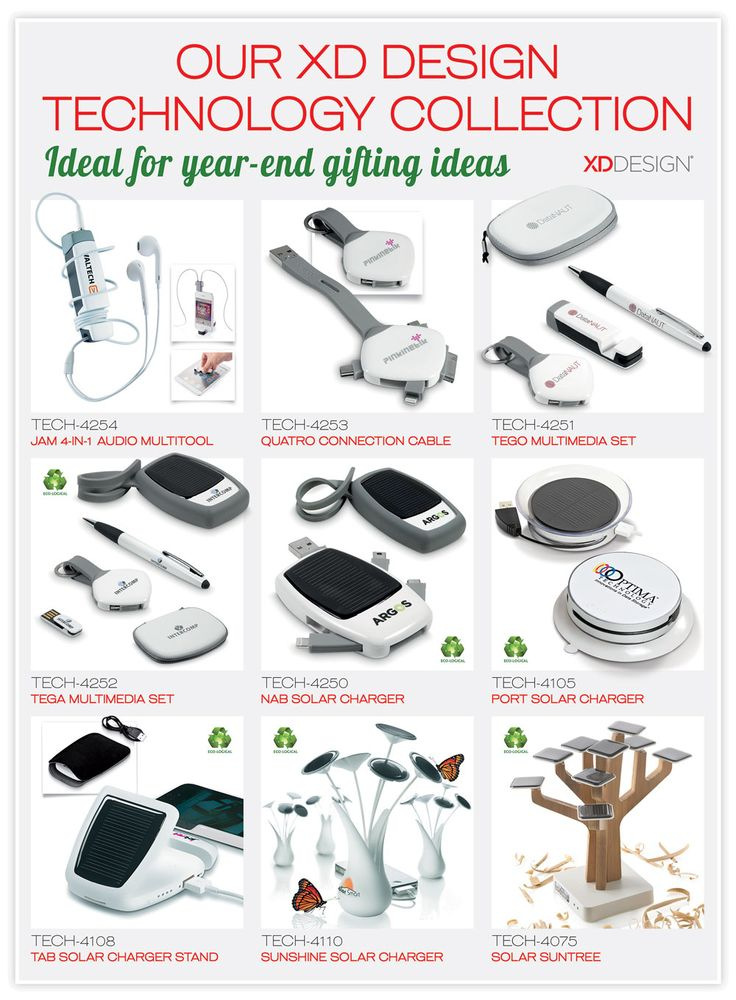 Our Design Technology collection - ideal for year end gifting