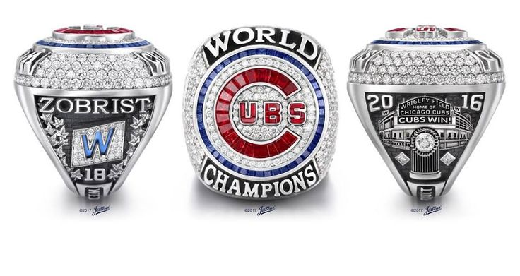 The World Series Ring! 108 diamonds! This is AWESOME <3