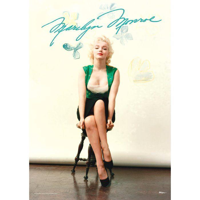 Marilyn Monroe (Signature) Graphic Art