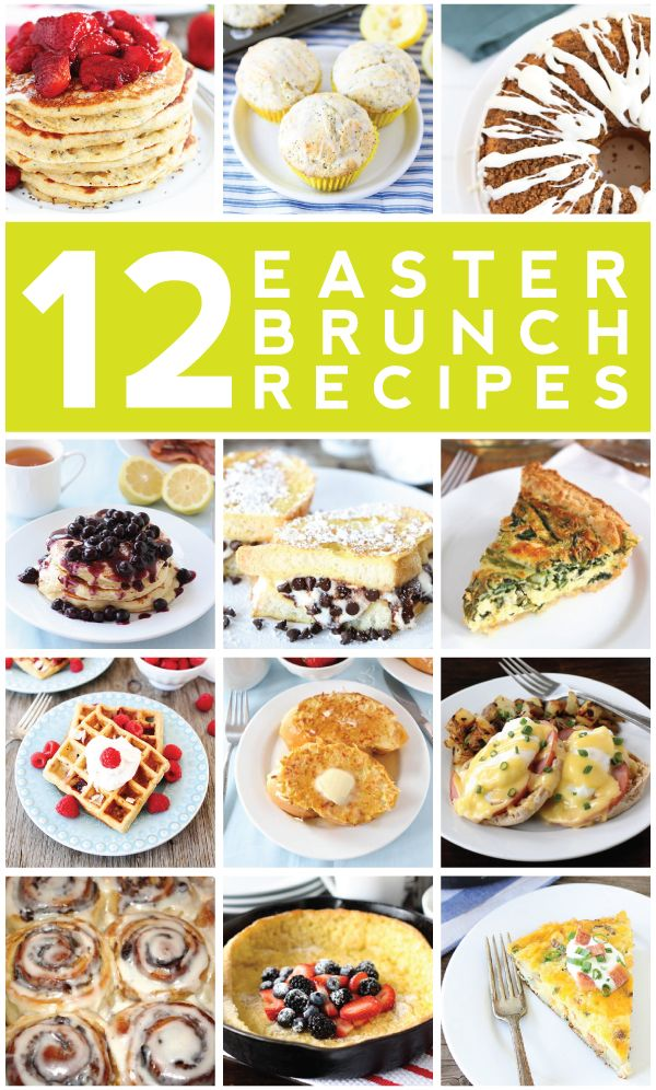 17 best images about brunch ideas on pinterest mini for Best easter brunch recipes
