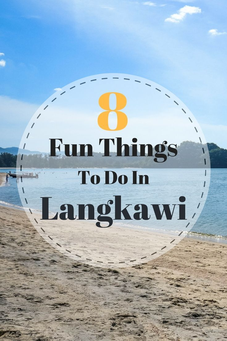 From jungle trekking to island hopping, there's no shortage of things to do in Langkawi. Here's 8 fun things we'd recommend on your trip to Langkawi Island | Ravenous Travellers Travel Blog