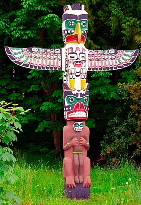 Native American Totem Pole Art Www Imgkid Com The