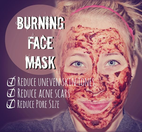 This burning face mask is going to change your life. Sometimes I feel like I'm the only adult in the entire world who has hormonal acne.  Right around that time of the month I seem to break out in those under-the-skin boils that are hard to see and hurt to touch... you know the ones?…