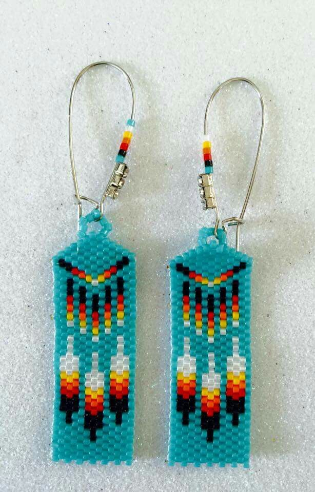 17 Best Images About Beaded Earrings On Pinterest Seed