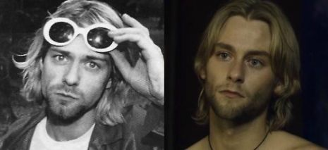 "Kurt Cobain & Joe Anderson | I had to watch the movie ""Across the Universe"" for my Intro. to Film class, and I noticed that this actor looks a lot like Kurt."