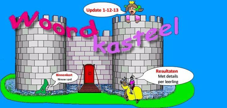 Woordkasteel > geweldig gratis spellingprogramma met instapdictee, lerarenprogramma, toetskasteel en 1001 mogelijkheden om woordpakketten te importeren of zelf toe te voegen. Na het instapdictee maakt het programma zelf oefenstof aan. Van gr. 3 - 8 > I LOVE IT