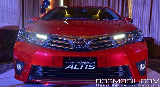 All New Toyota Corolla Altis 2014 #BosMobil