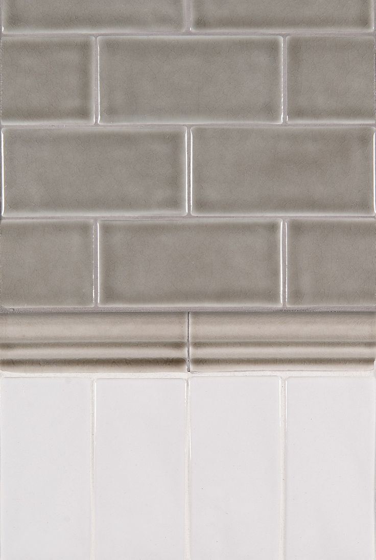 Highland Park Dove Gray Tile With Natural Cherry Cabinets