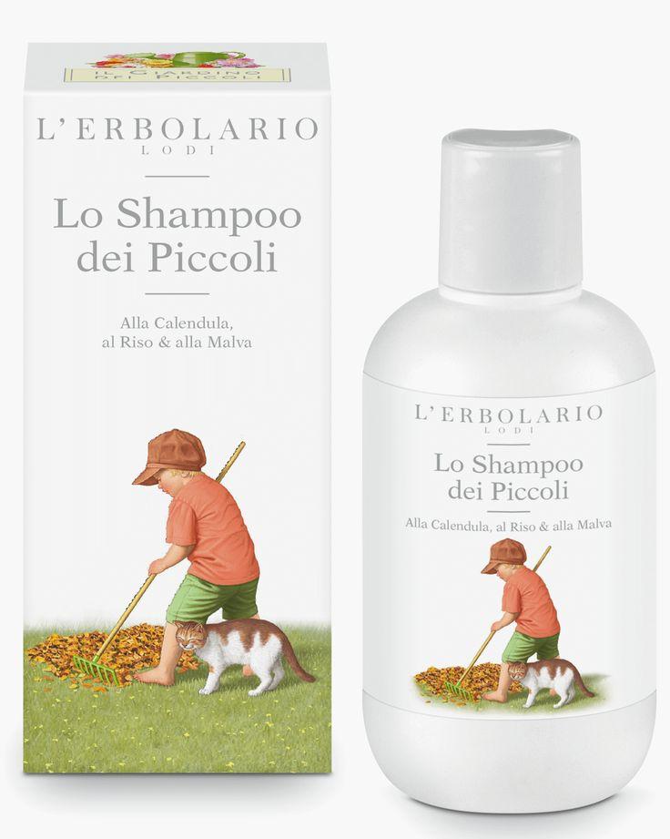 Lo Shampoo dei Piccoli Alla Calendula, al Riso & alla Malva http://www.erbolario.com/prodotti/656_il_giardino_dei_piccoli_2014_lo_shampoo_dei_piccoli