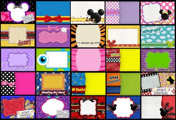 110 Digital Disney Autograph Album Pages 10 Cover by ShopKandy