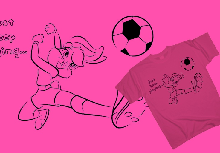 Lola Bunny - Top scorer http://www.toonshirts.com/products/looney-tunes/83-lola-bunny-top-scorer