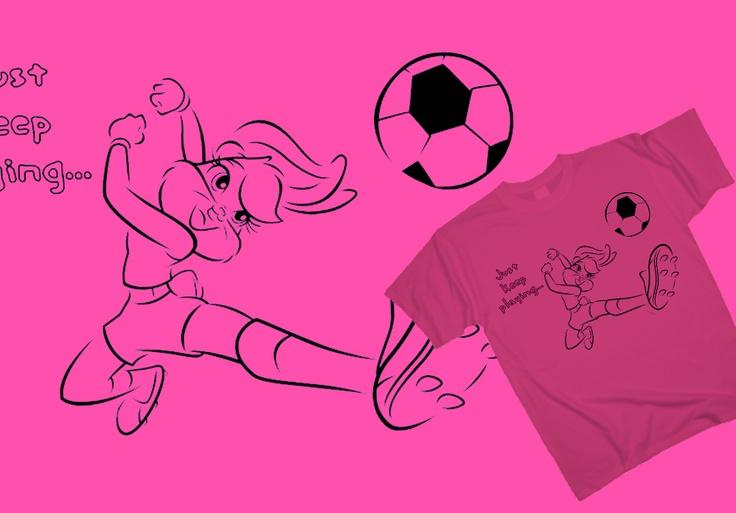 Lola Bunny - Top scorer http://www.toonshirts.com/products/looney-tunes/83-lola-bunny-top-scorer