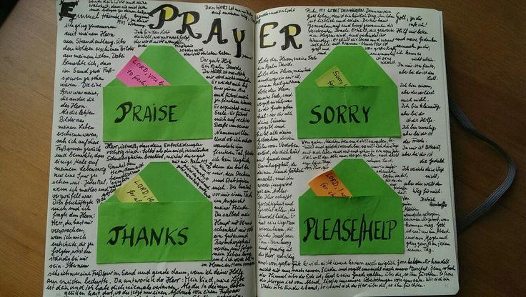 Gebetsanliegen (mein bullet journal)