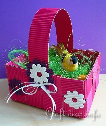 Easter Basket Crafts On Pinterest