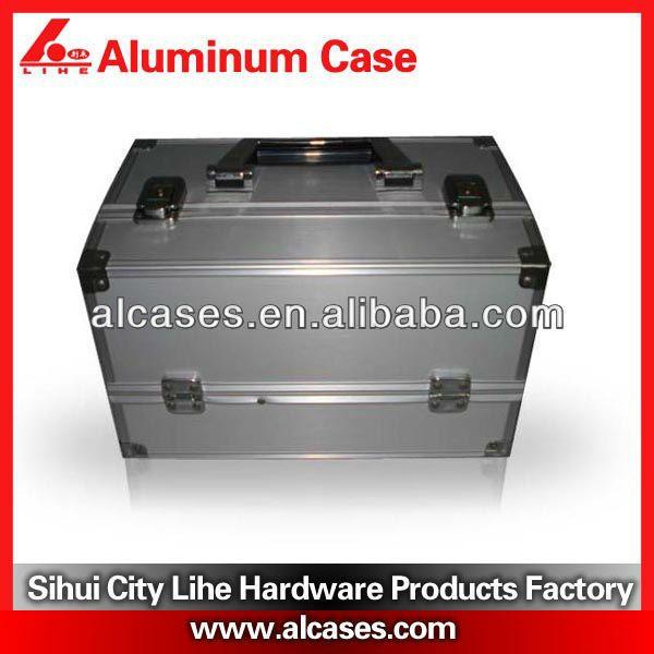 #professional aluminum nail polish cases, #nail polish organizer case, #plastic nail polish case BA-22