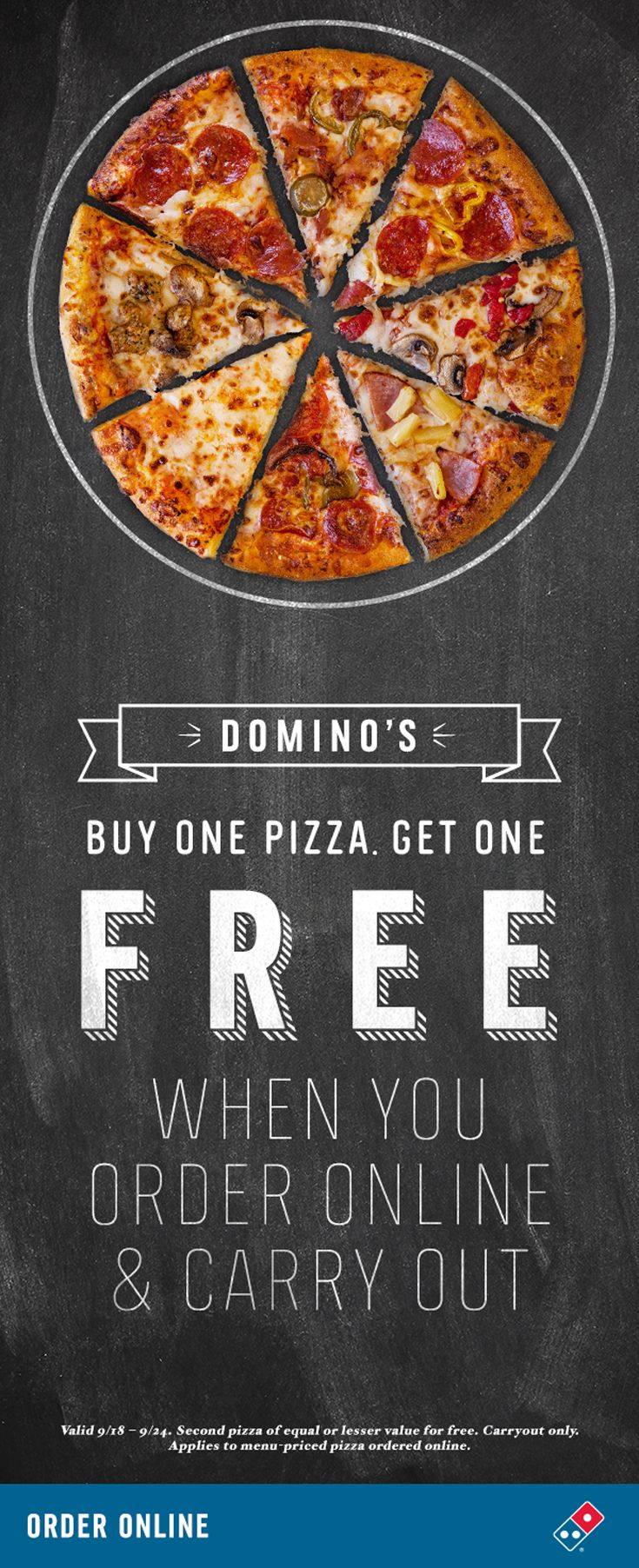 Dominos pizza online order - Order Pizza Pasta Online For Carryout Delivery Domino S Pizza