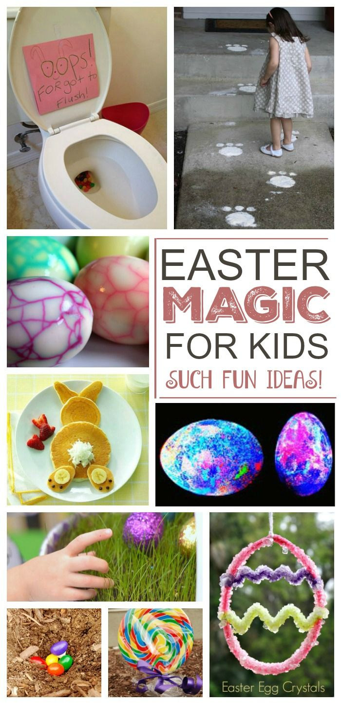Simple was to make Easter MAGICAL for kids- these are so FUN!  Can I be a kid again please?