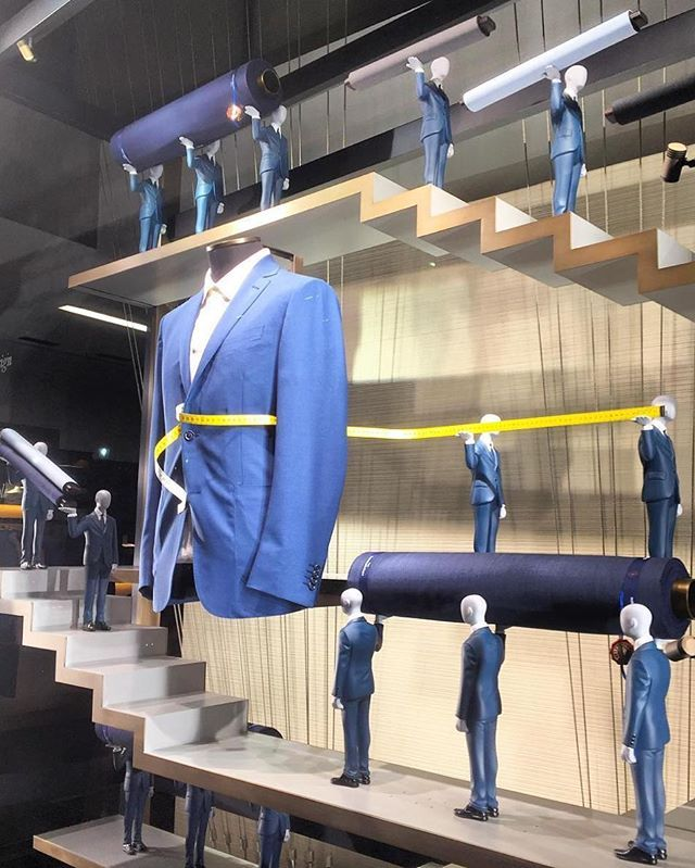 Navy And Grey Visual Merchandising Shop Display November: Best 25+ Tailored Suits Ideas On Pinterest